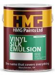 HMG Vinyl Silk Emulsion mixed to colour of your choice 5lt
